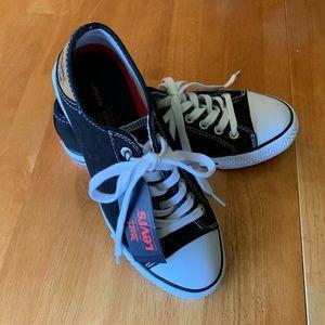 Levi's Canvas Sneakers Black 6.5